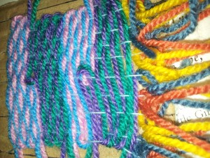 A sample of our weaving.