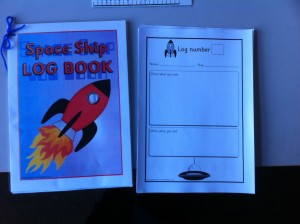 Space log book