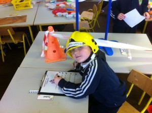 Fire Safety Officer busy at work!