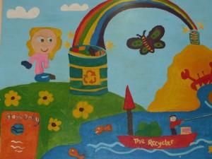 Litter Mural