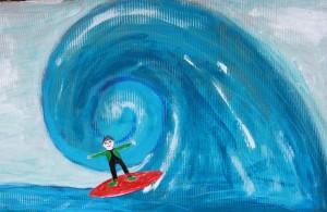 Eddie Duggan - art competition entry 1